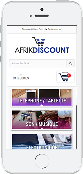 Afrikdiscount Responsive