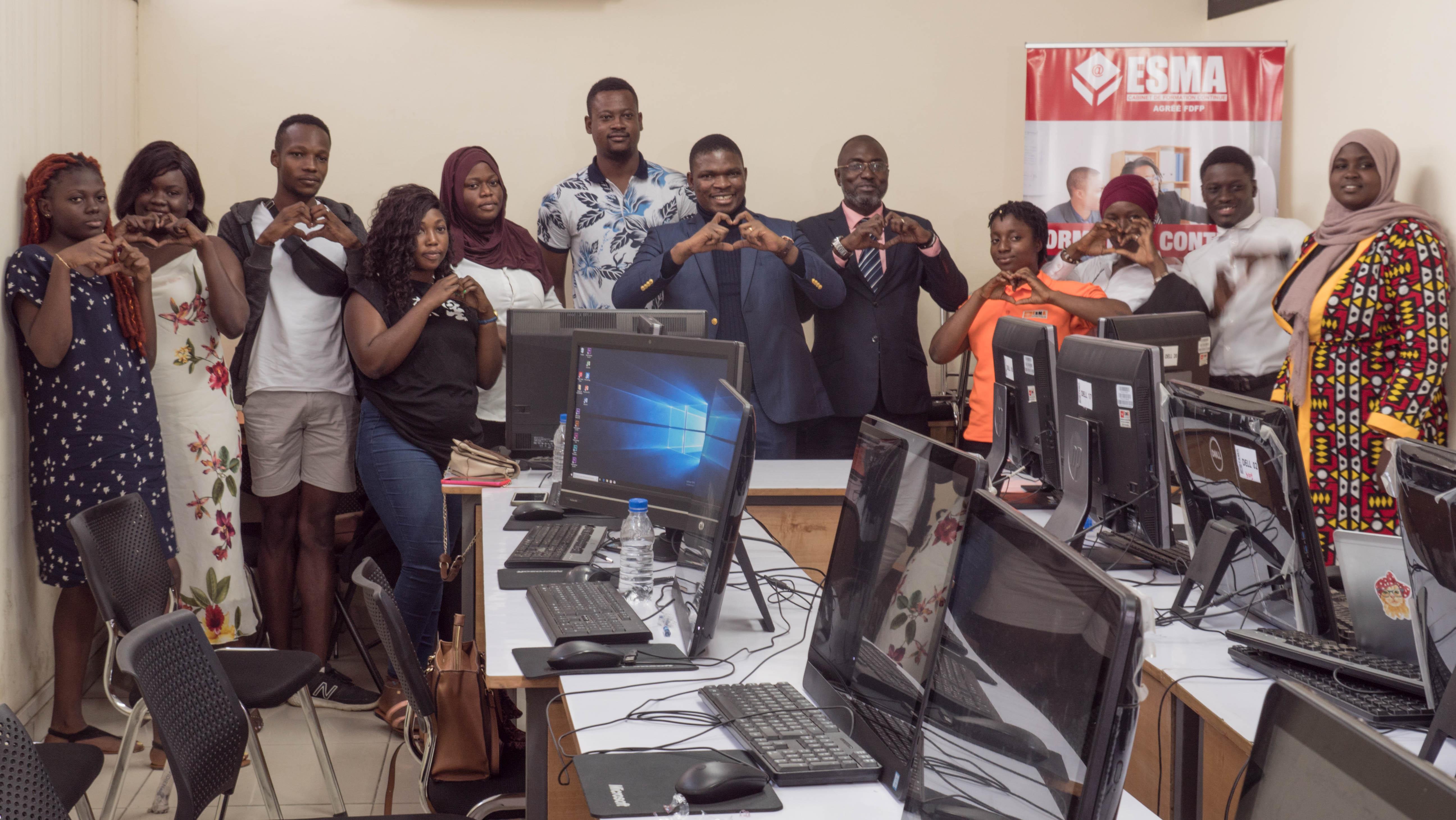 Formation digitale à Esma (Ecole de Spécialités Multimédia d'Abidjan)