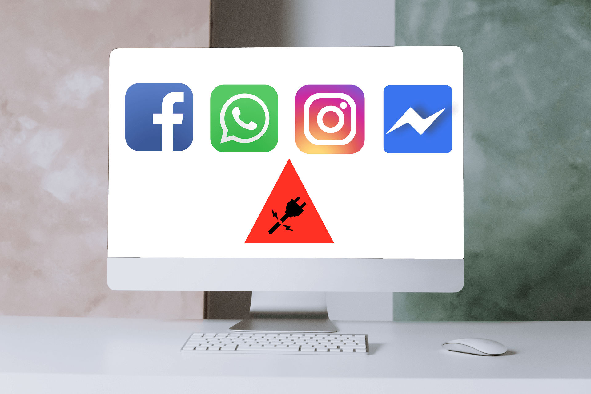 BUG Mondial de Facebook, Messenger, WhatsApp et Instagram